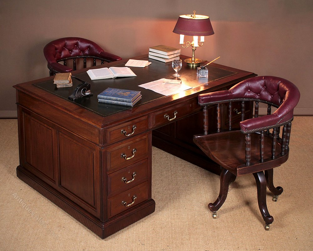antique bedroom most furniture desk peerless creativity victorian partners double office hutch sided