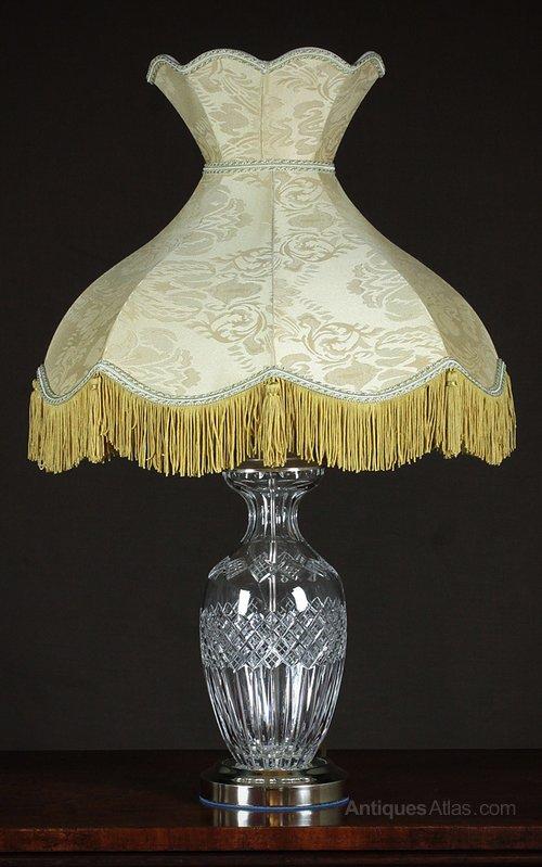 Antiques atlas pair cut glass table lamps photos pair cut glass table lamps mozeypictures Images
