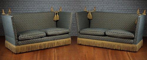 Groovy Antiques Atlas Pair Of Knole Sofas Inzonedesignstudio Interior Chair Design Inzonedesignstudiocom