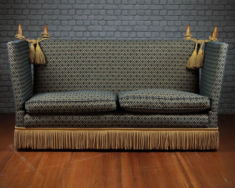 Prime Antiques Atlas Pair Of Knole Sofas Inzonedesignstudio Interior Chair Design Inzonedesignstudiocom