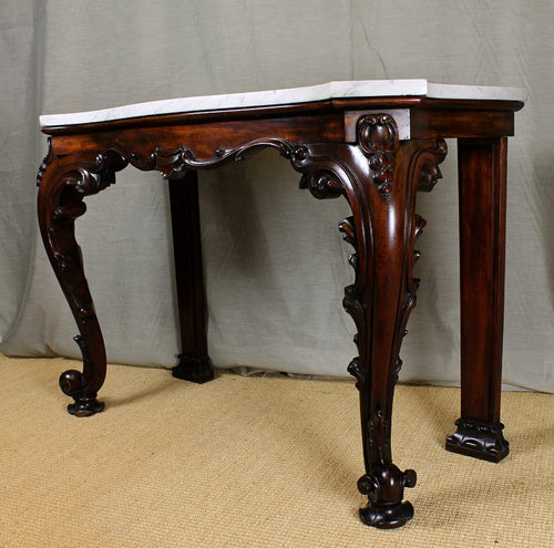 Regency Marble Top Console Table Antiques Atlas