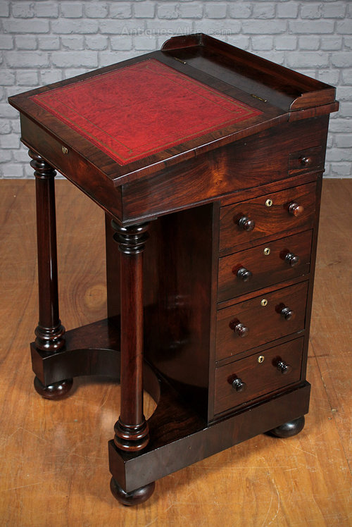 Rosewood Davenport Desk c.1820. Antique Davenports - Rosewood Davenport Desk C.1820. - Antiques Atlas
