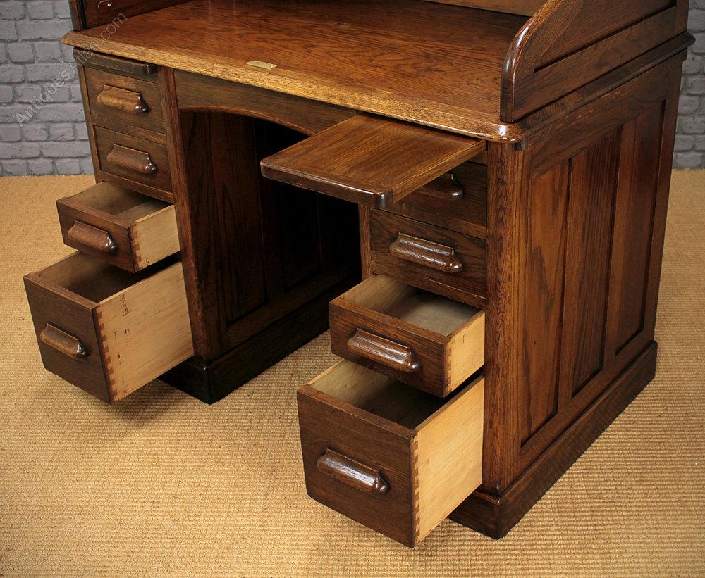 Antique Roll Top Desks Oak Alt5 Alt6