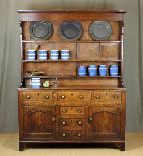 Small Oak Welsh Dresser C 1810