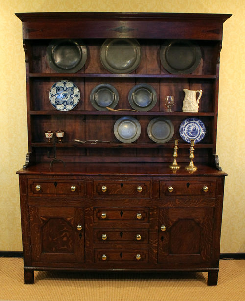 Small Oak Welsh Dresser C 1820