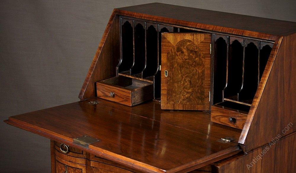 Antique Bureaus Queen Anne Style Writing