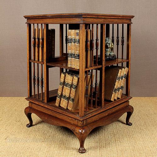 Small Revolving Bookcase.