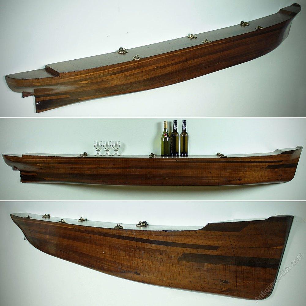 Antiques Atlas - Very Large Boat Builder's Half Hull Model ...