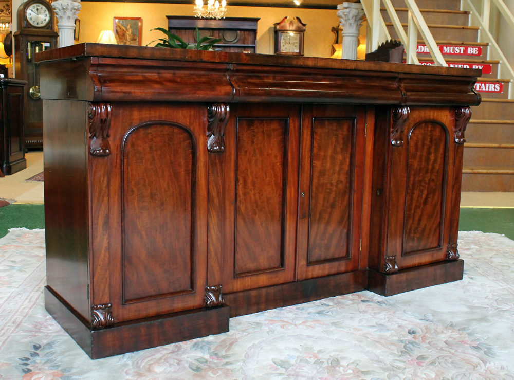 old sideboards for sale four door mahogany sideboard c 1860 antiques 3652