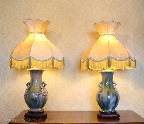 Antiques Atlas Vintage Chinese Vase Lamps
