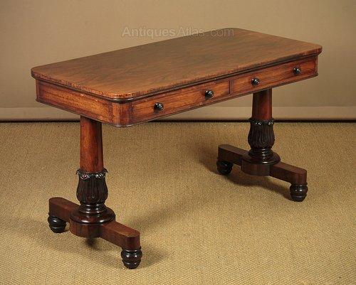 William Iv Rosewood Sofa Table C 1830 Antiques Atlas