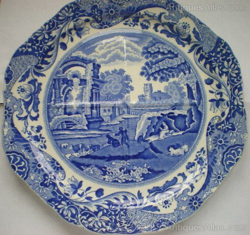 Antiques Atlas Copeland Spode Italian Pattern Sectional