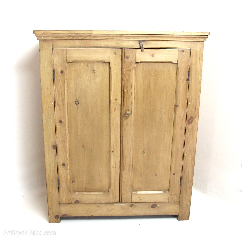 2 Door Pine Cupboard Antique ... - 2 Door Pine Cupboard - Antiques Atlas