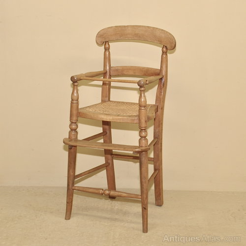 Antique Child's High Chair - Antique Child's High Chair - Antiques Atlas