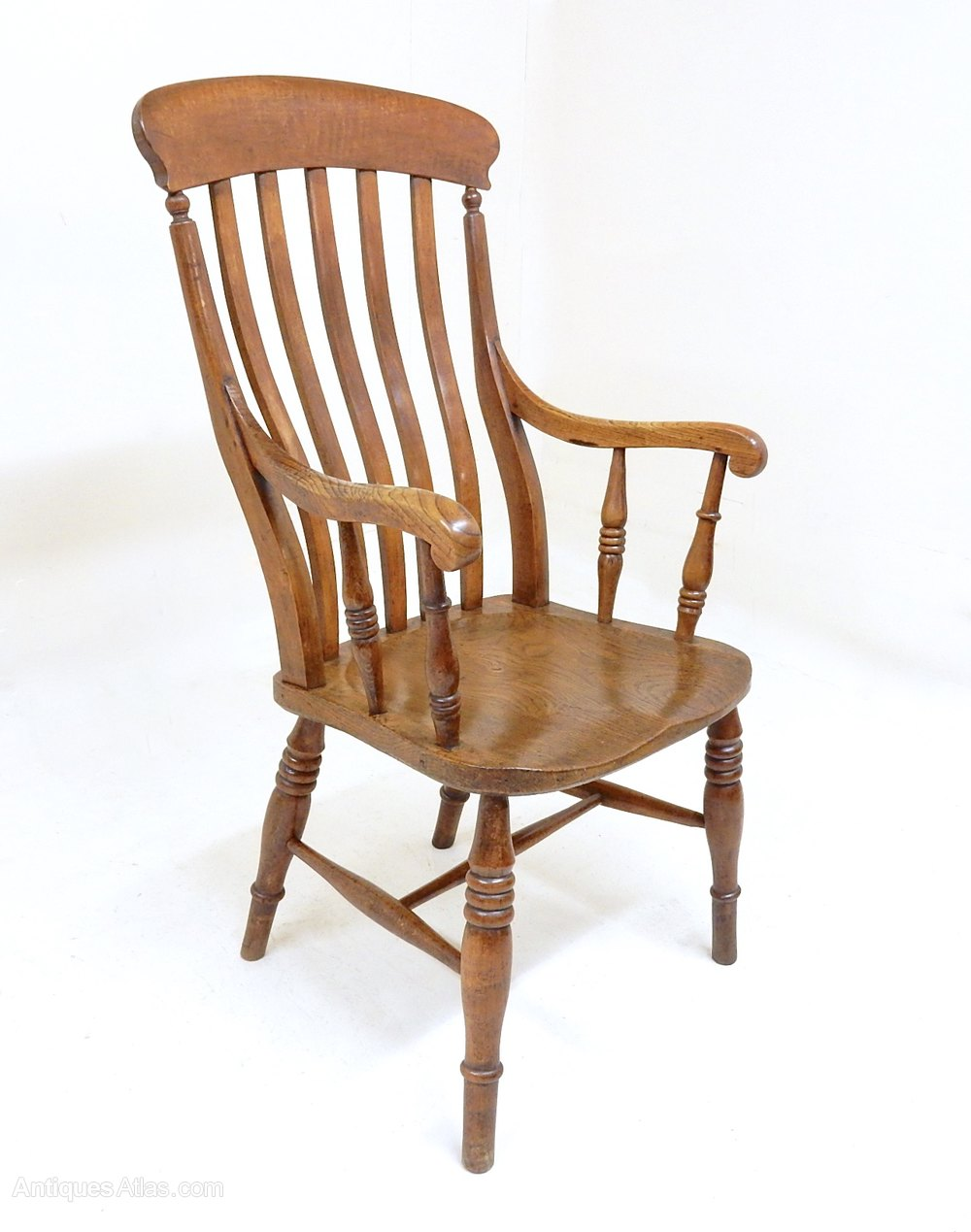 Antique Country Armchair - Antiques Atlas