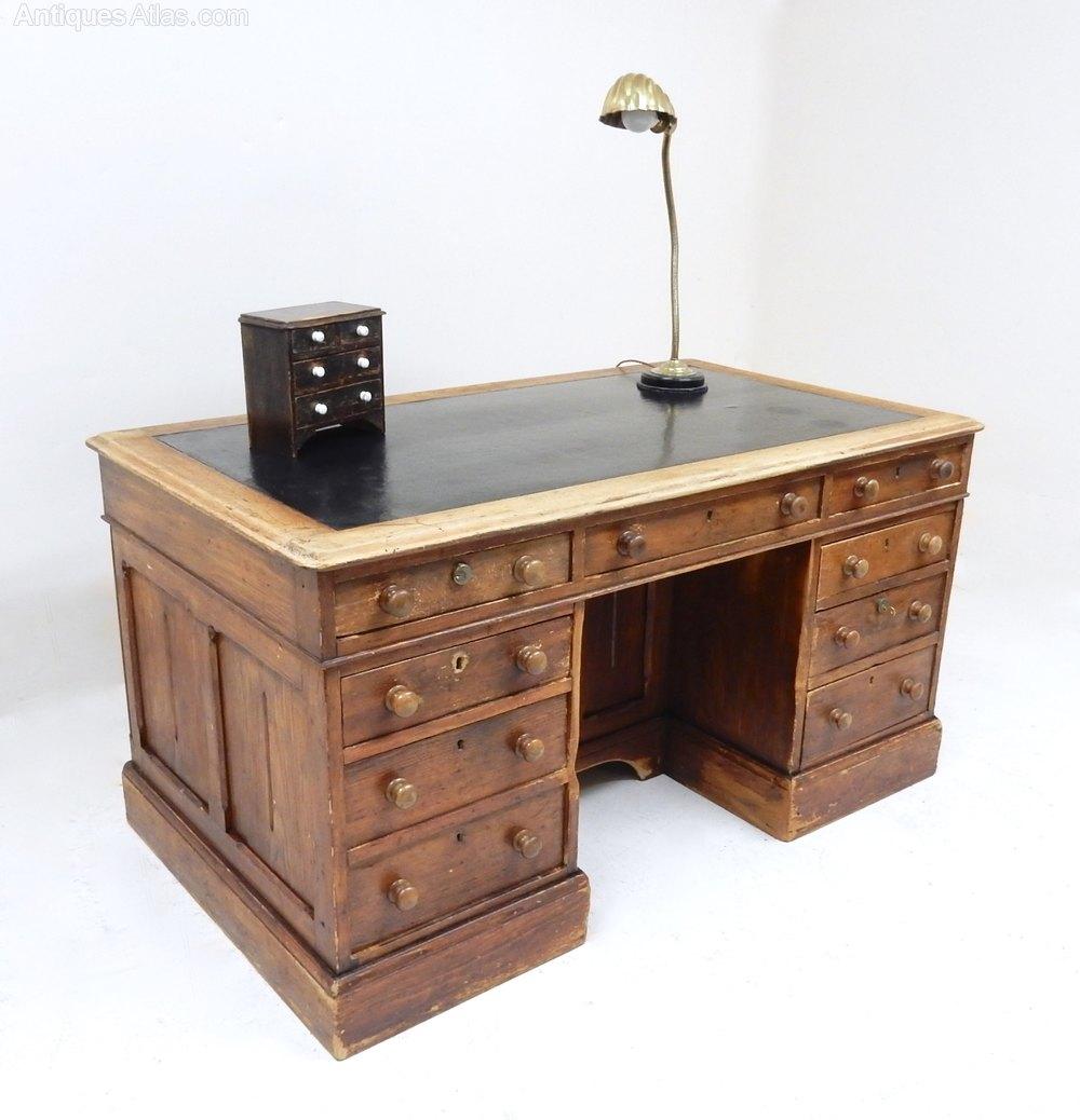Antique Pine Desk Antique Desks ... - Antique Pine Desk - Antiques Atlas