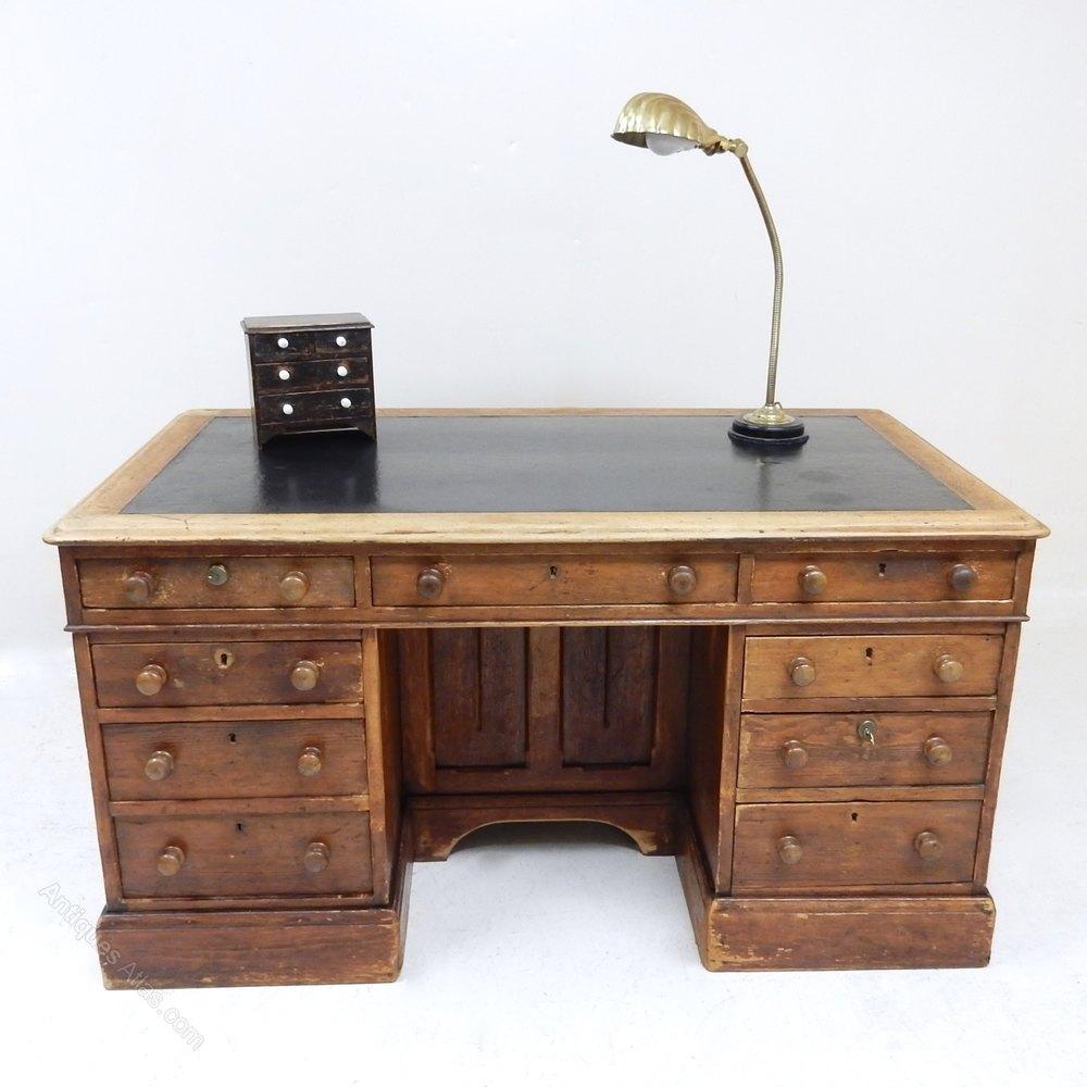 - Antique Pine Desk - Antiques Atlas