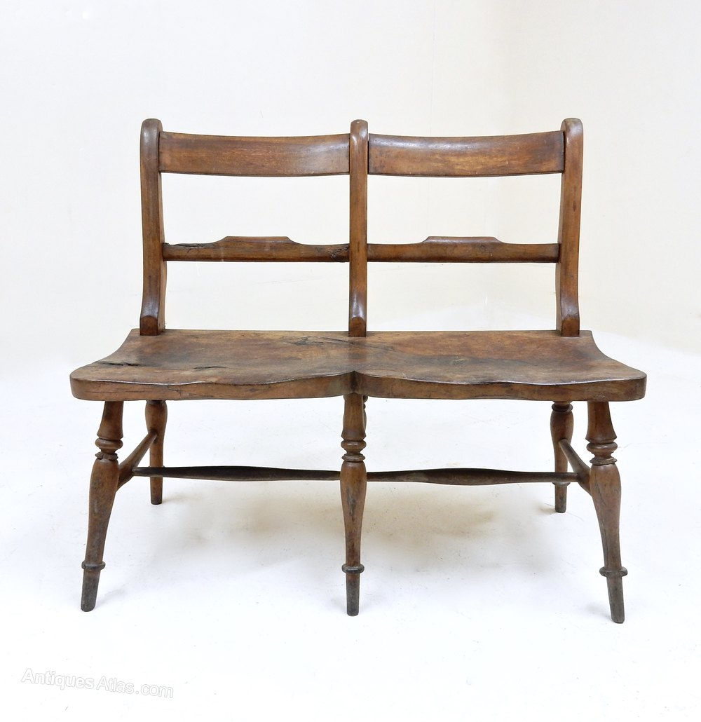 Double Seat Windsor Chair Antique Chairs