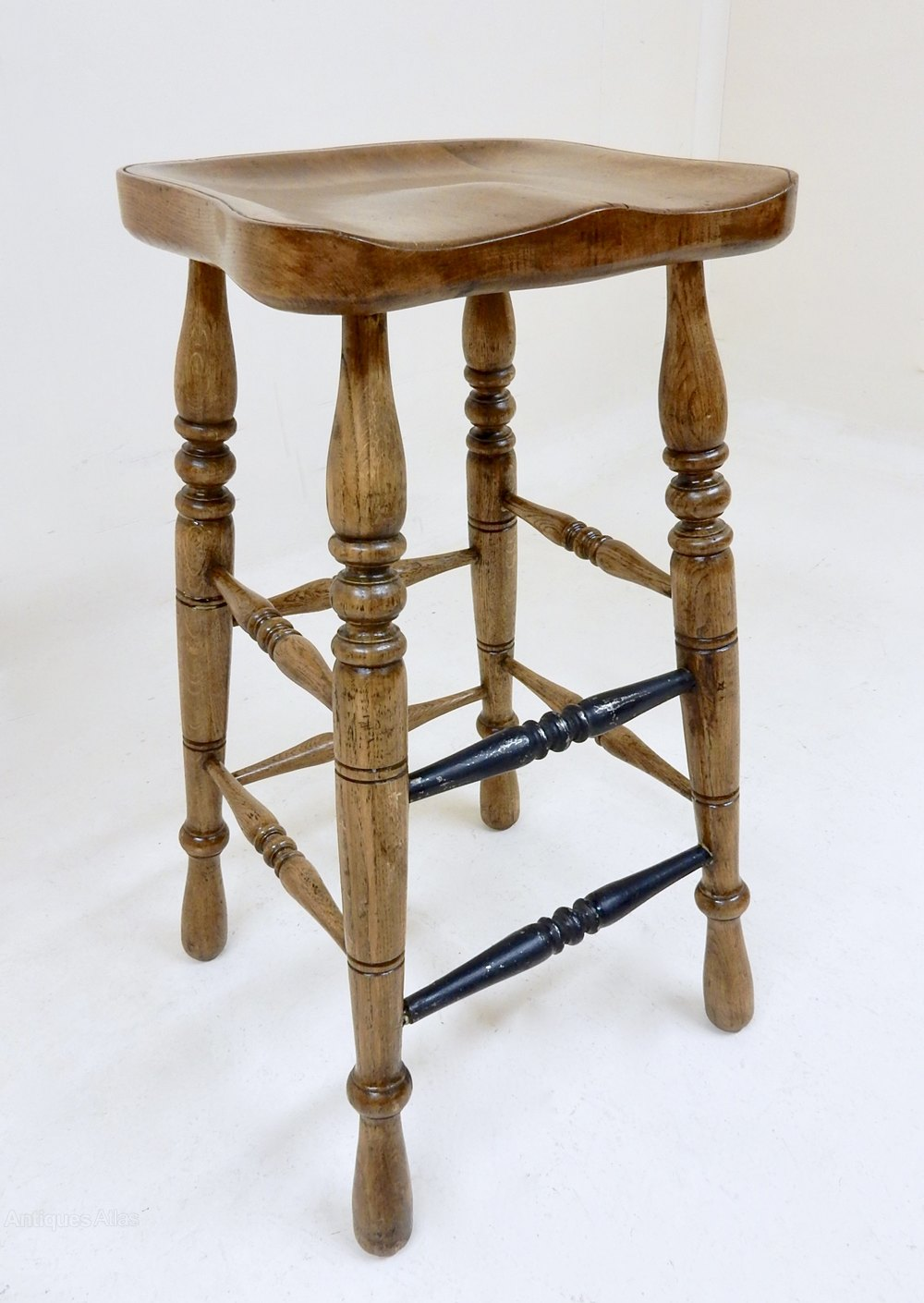 antique counter stools oak bar stool antiques atlas 1265