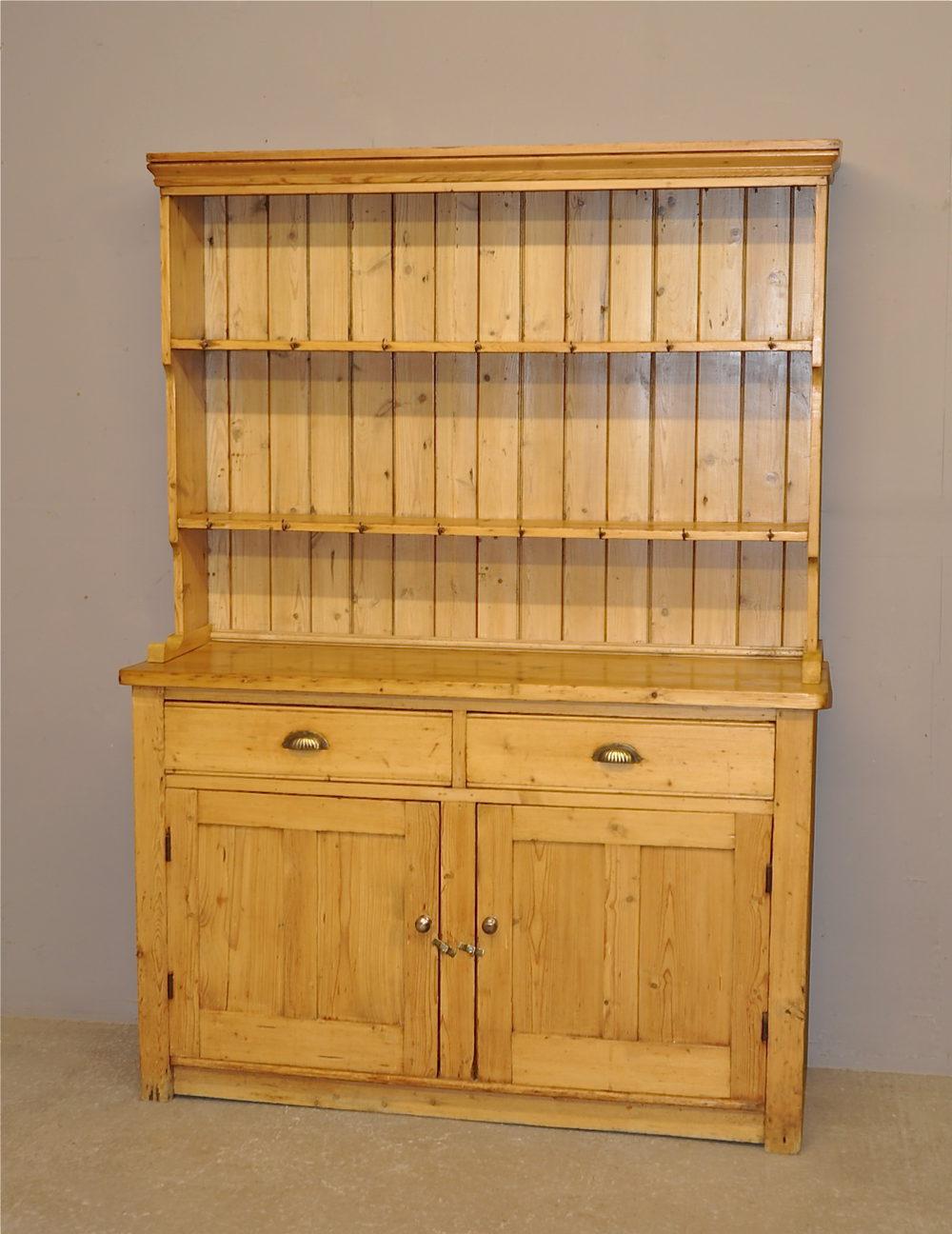 Pine Kitchen Dresser R3380 Antiques