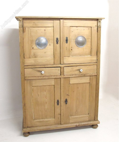 Pine Larder Cupboard Antique ... - Pine Larder Cupboard - Antiques Atlas