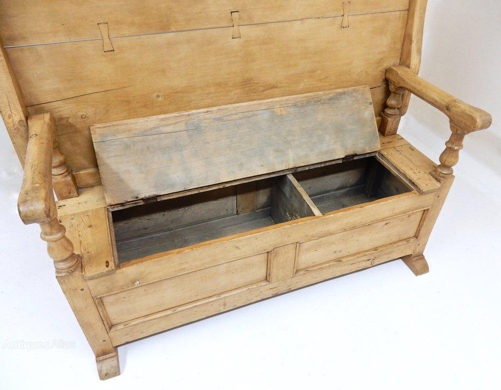 Pine Monks Bench Antiques Atlas