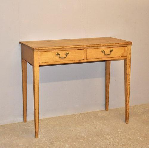 pine side table - q3284 - antiques atlas
