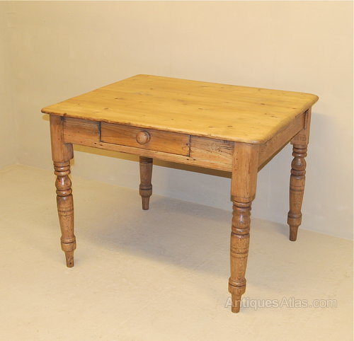 Gentil Small Pine Kitchen Table ...