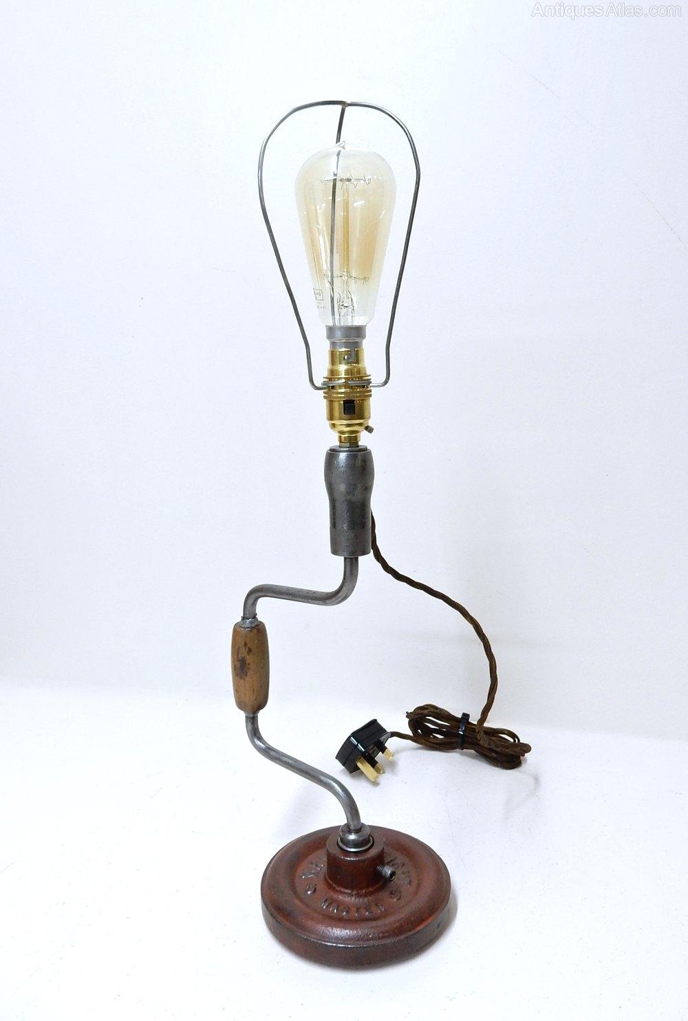 Antiques atlas vintage novelty table lamp aloadofball Choice Image
