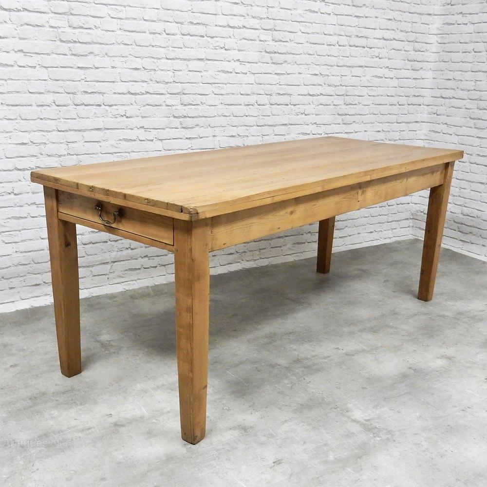 Vintage Pine Kitchen Table