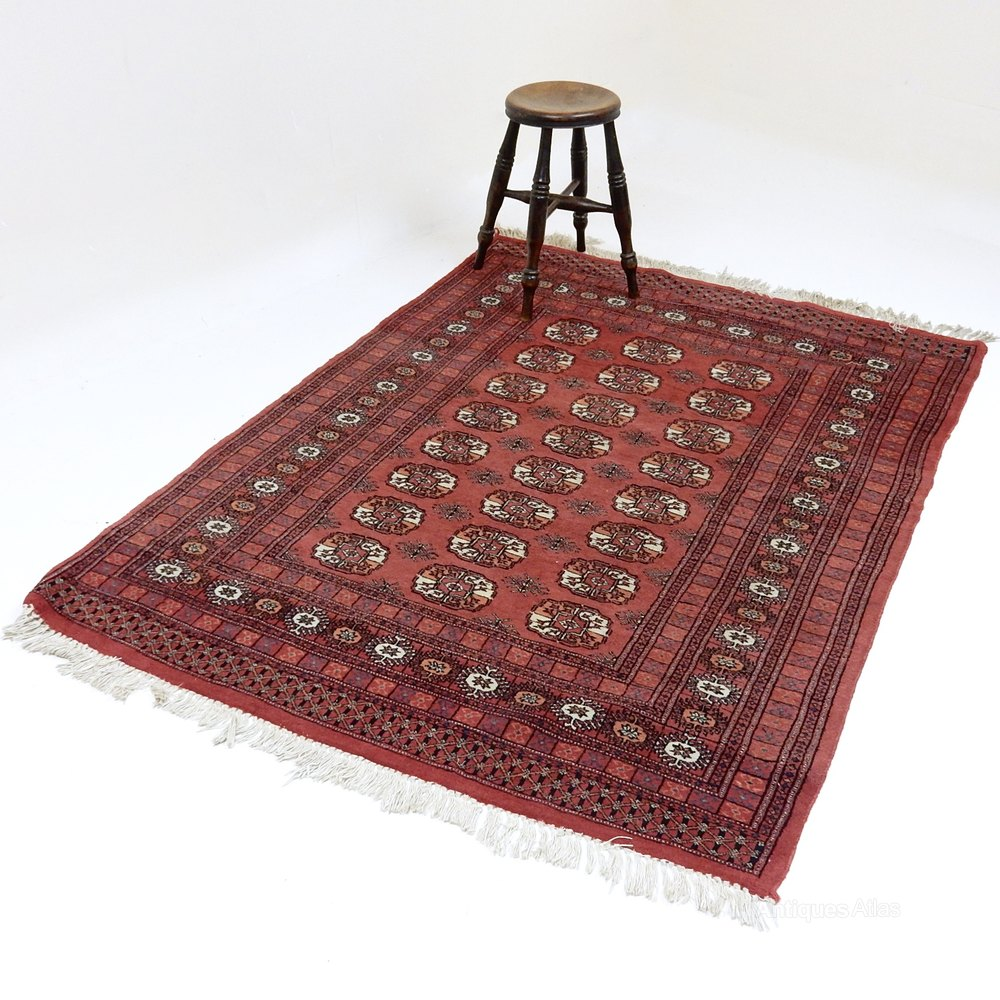 Antique Turkoman Rug: Vintage Turkoman Rug