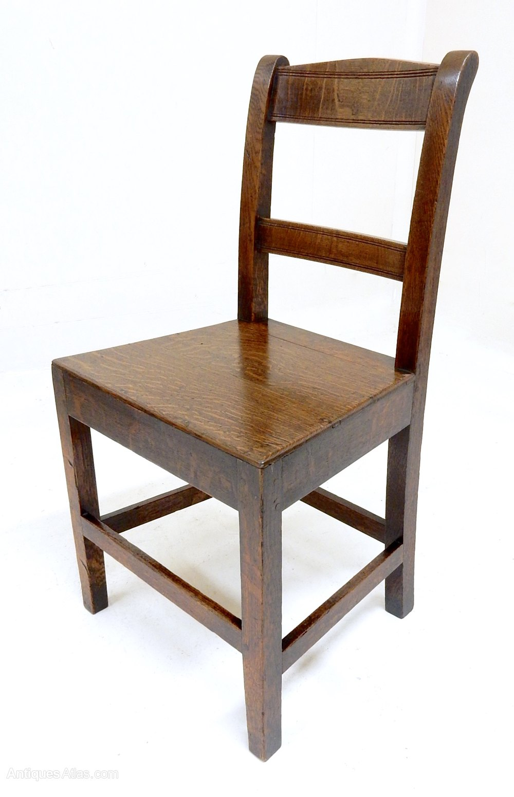 Welsh oak dining chairs antiques atlas for Oak dining chairs