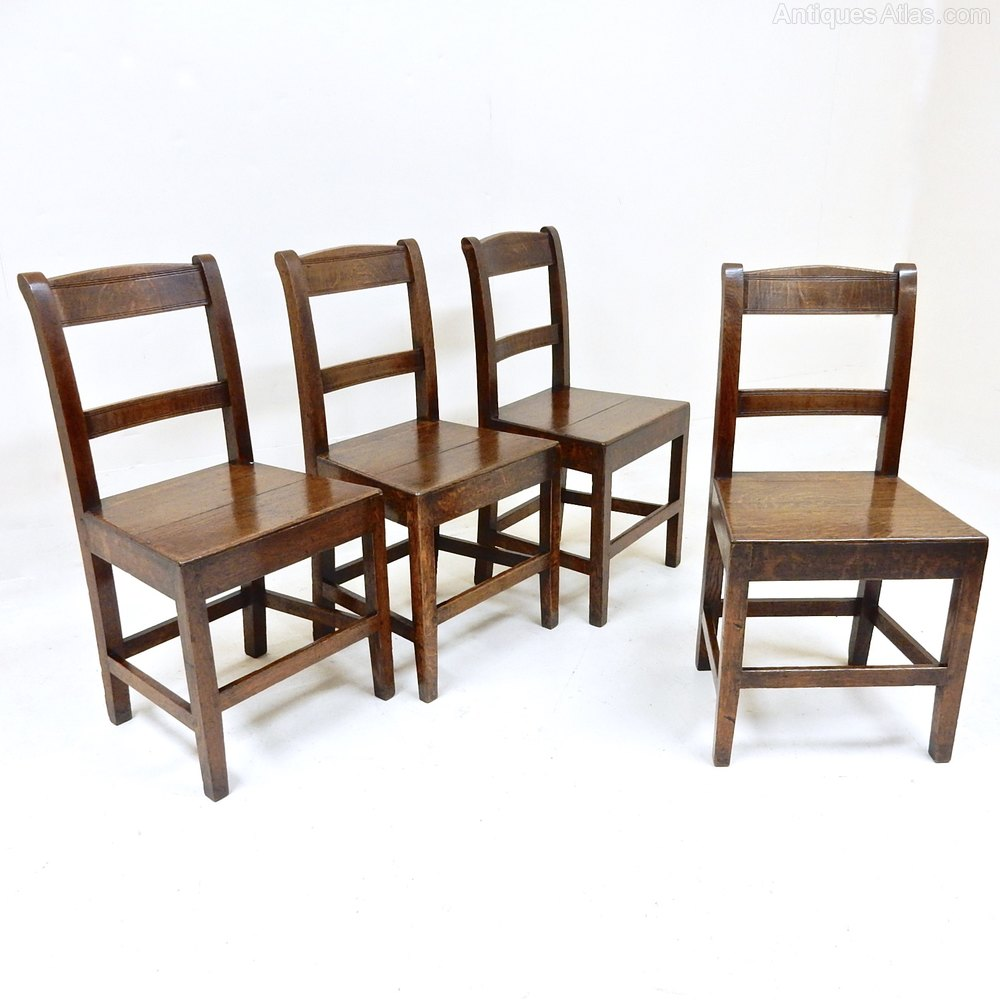 Welsh Oak Dining Chairs Antiques Atlas