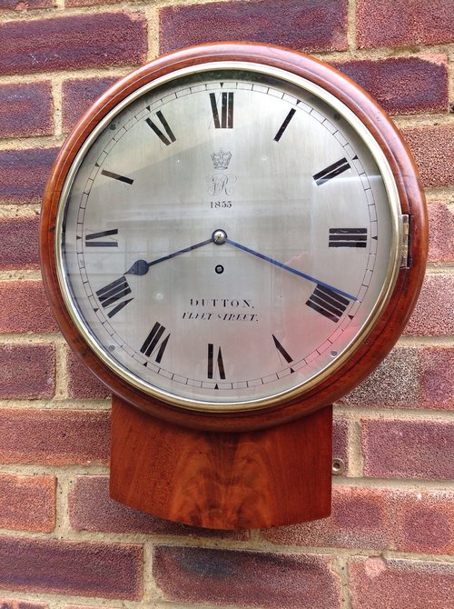 Antiques Atlas Fusee Wall Clock