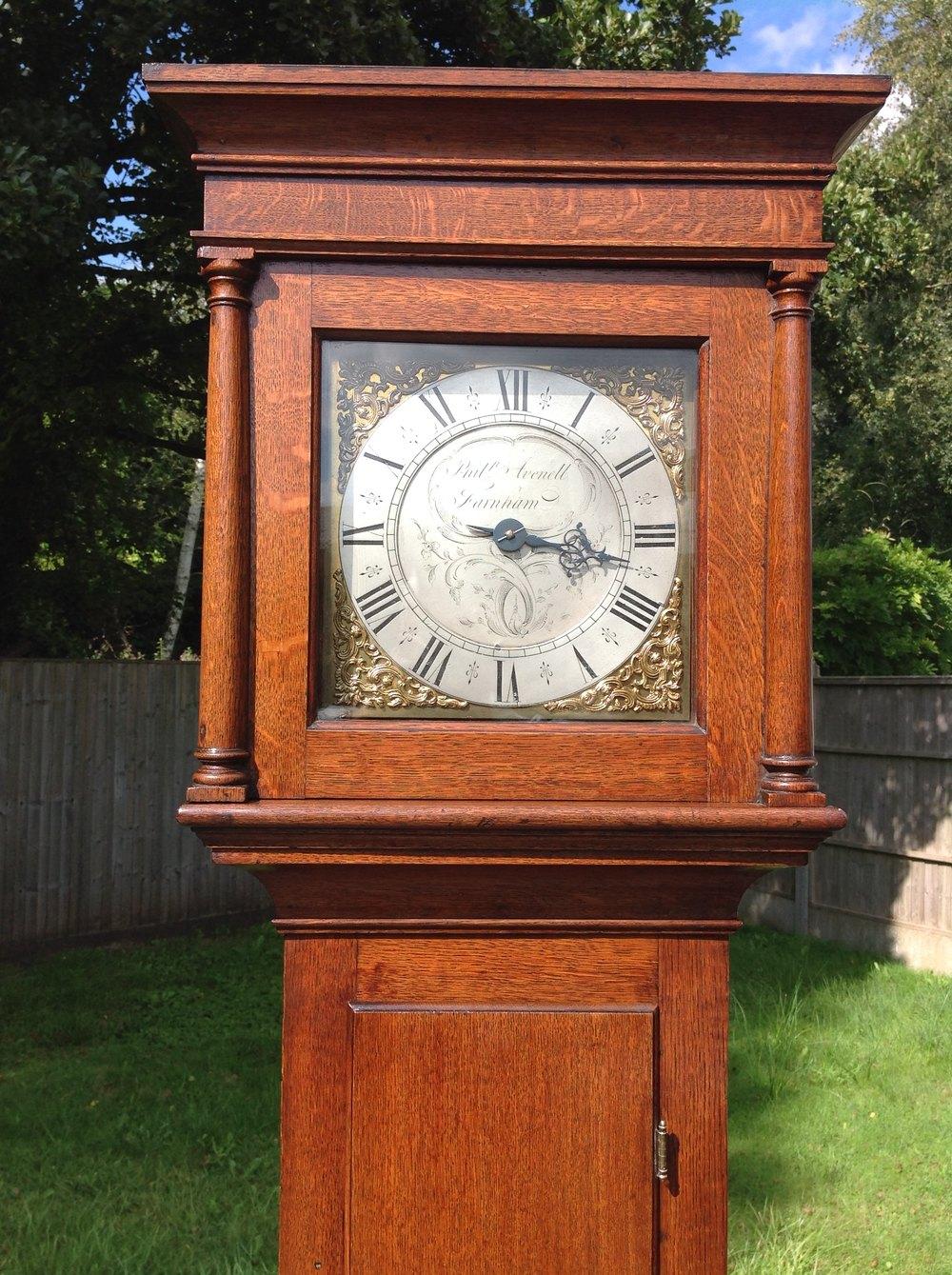 Antiques Atlas - Longcase Clock