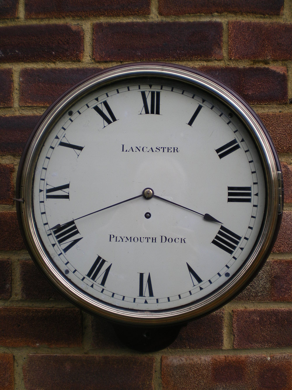 Antiques Atlas Verge Fusee Wall Clock