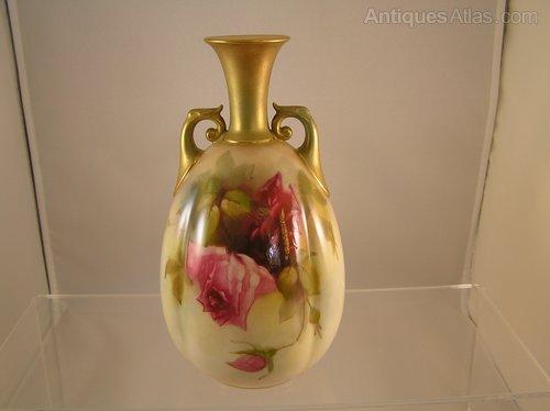 Antiques Atlas Royal Worcester Vase Kitty Blake 1917