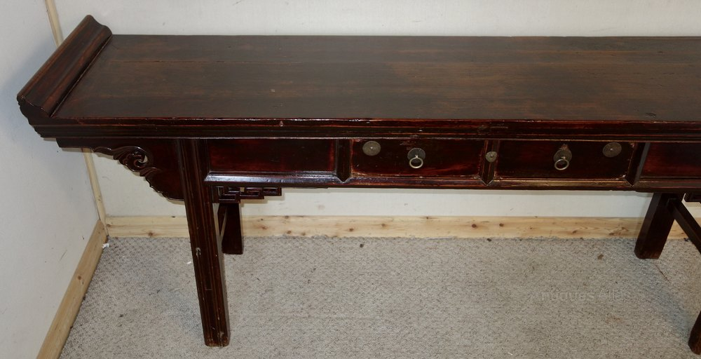 Delightful Chinese Elm Altar Table Antique Altar Tables ...