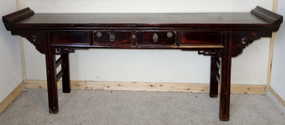 Chinese Elm Altar Table ...