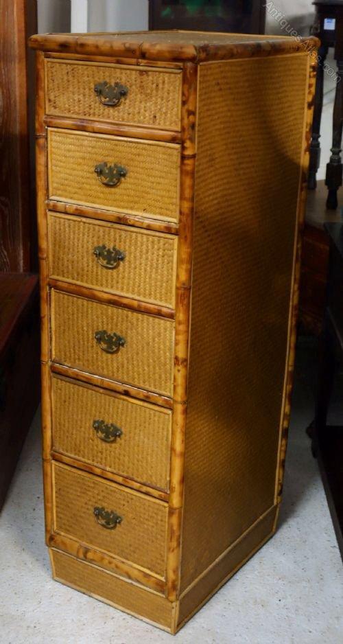 furniture with drawers wicker wood ebay bedroom bhp storage rattan cabinet baskets dresser