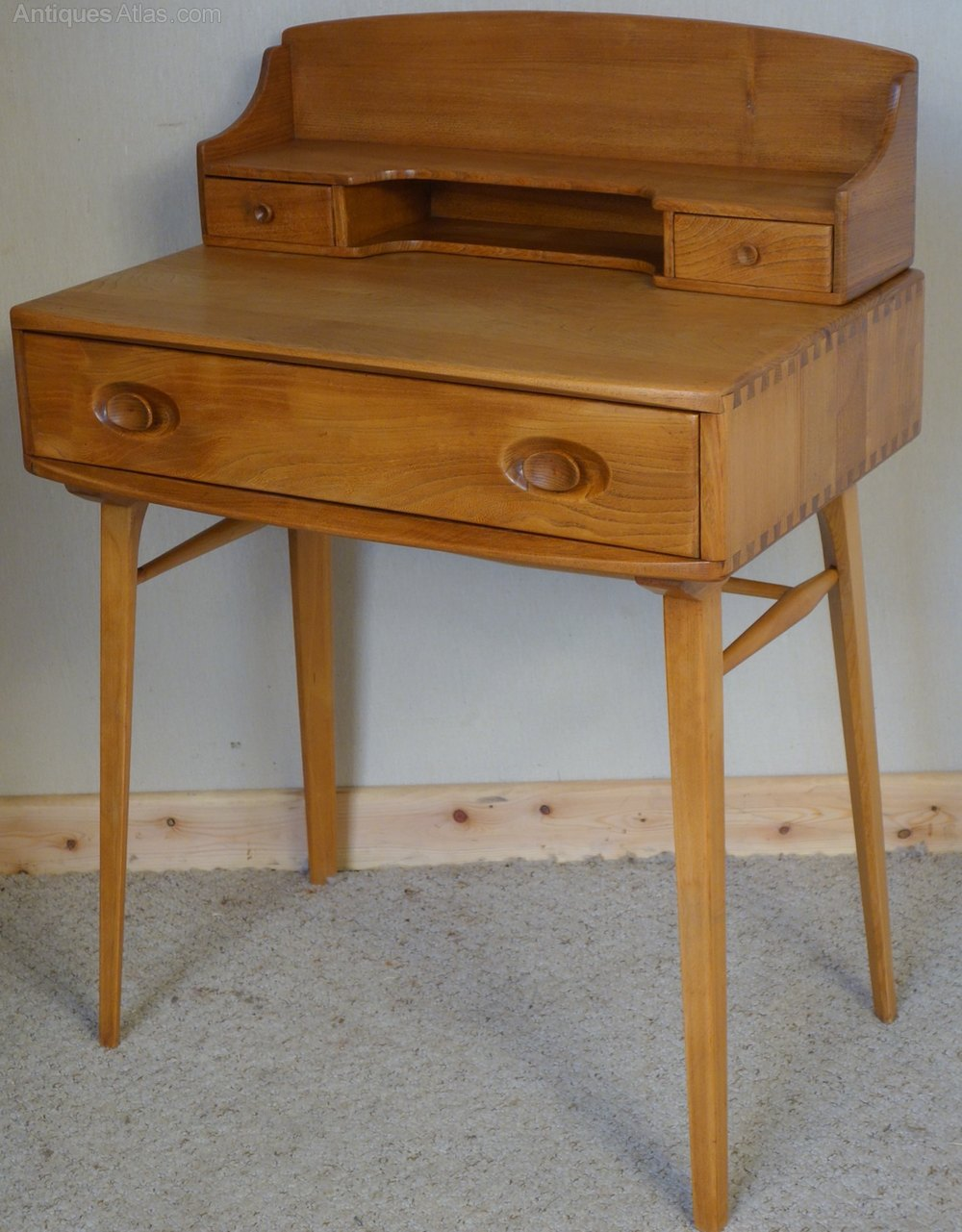 Ercol Writing Desk Vintage