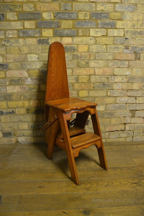 - 1920s Metamorphic Chair Ladder Ironing Board - Antiques Atlas