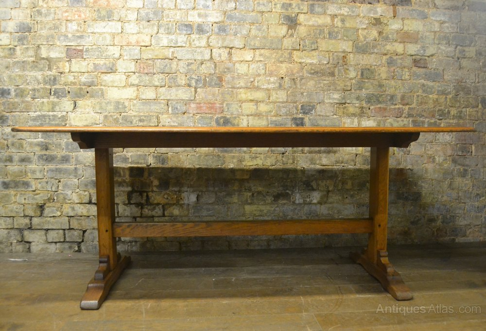 1930s oak dining table antiques atlas for 1 oak nyc table prices