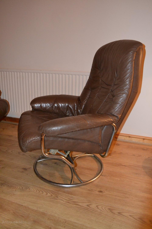 Swedish Swivel Chairs Leather Alt5 Alt6