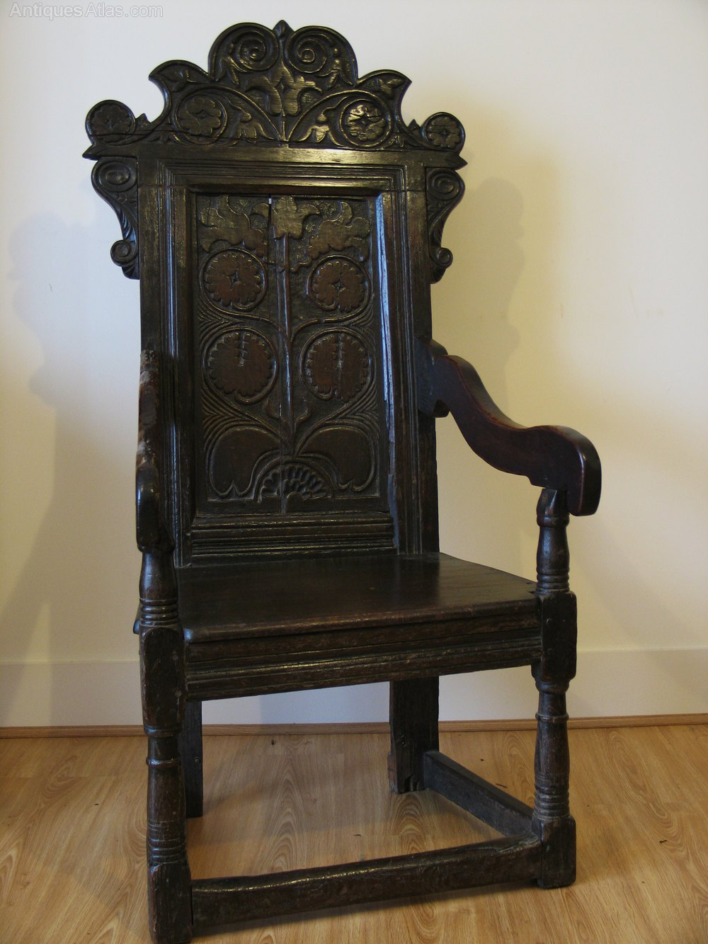 ... Antique Wainscot Chairs ...