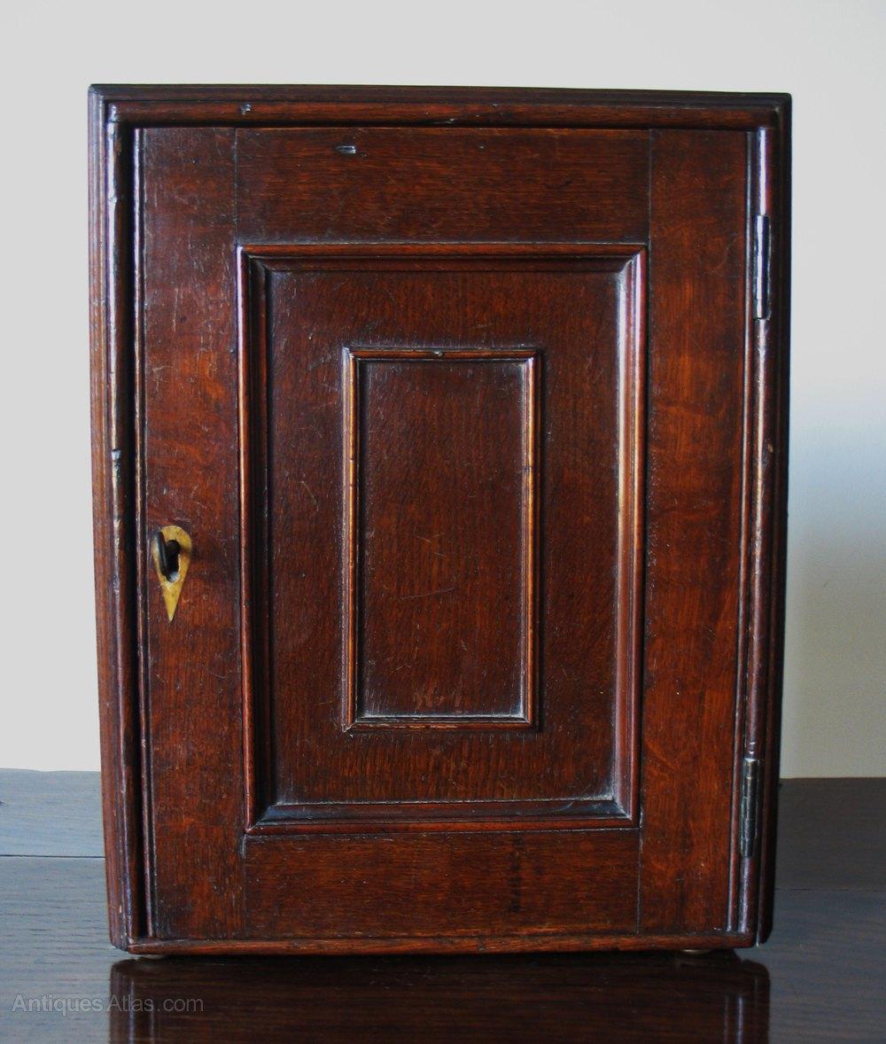 18th Century Oak Spice Cupboard Antique Spice Cupboards ... - 18th Century Oak Spice Cupboard - Antiques Atlas