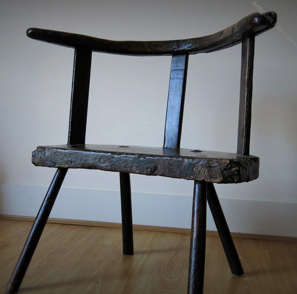 ... Antique Primitive Chairs ...