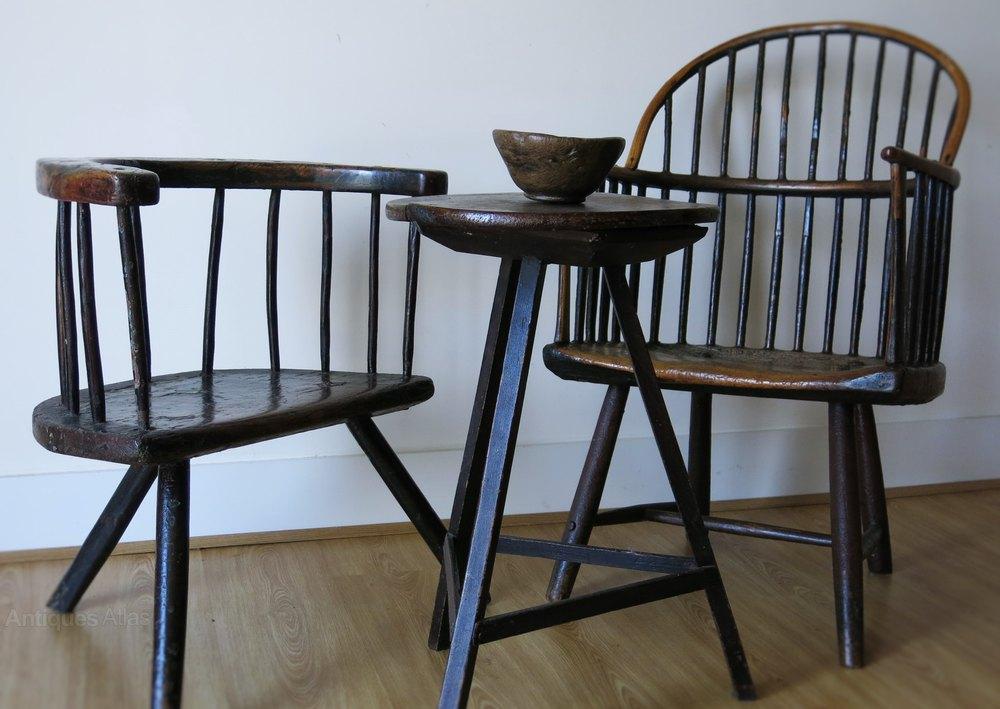 Welsh Primitive Chair 1780 ...