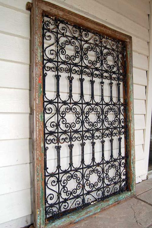 Antiques Atlas A Spanish Wrought Iron Grilled Window