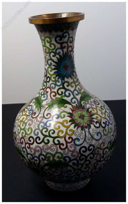 Antiques Atlas Chinese Cloisonne Vase